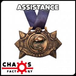 Medalla Balón Asistencias