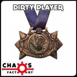 Medalla Balón Juego Sucio