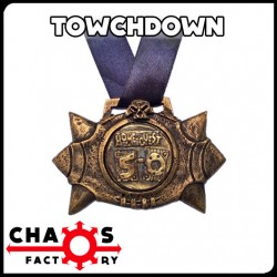 Medalla Balón Towchdown