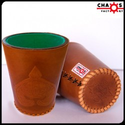 Leather Norse Dice Cup
