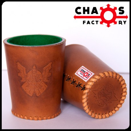 Leather Dwarf Dice Cup