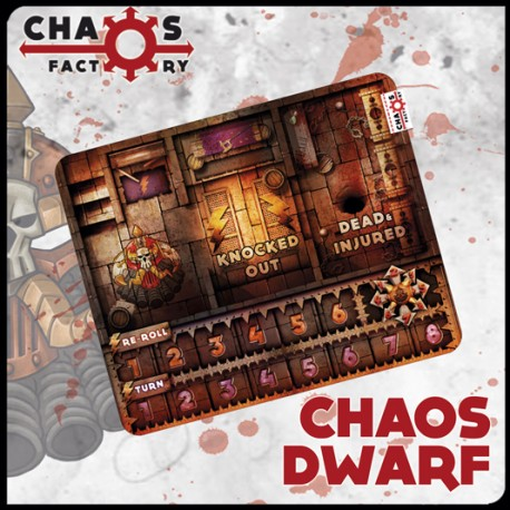 Racial Bench Chaos Dwarf