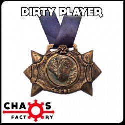 DirtyPlayer Ball Medal