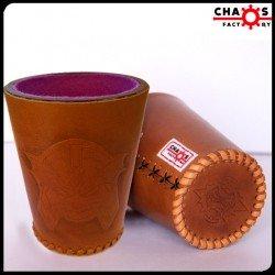 Leather Undead Dice Cup