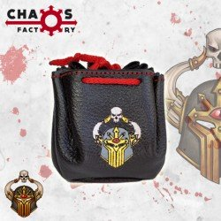 Chaos Leather Dice Bag