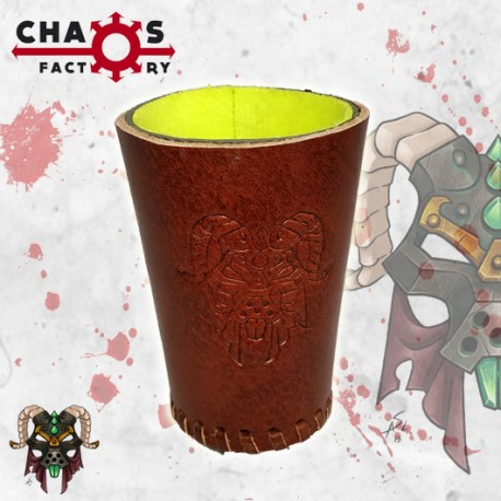 Leather Rat Dice Cup