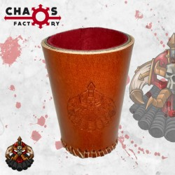 Leather Chaos Dwarf Dice Cup