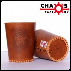 Leather Chaos Dice Cup